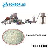 Anel de água de reciclagem de resíduos plásticos granulados máquina de fazer do cordão de Pelotas