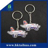 Il commercio all'ingrosso della fabbrica progetta il metallo per il cliente Keychain dell'anello portachiavi per il regalo