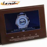 Ecrã LCD TFT de 7 Polegadas Facevideo mensagem vídeo Revista de vídeo do cartão para casamento Convite de negócios