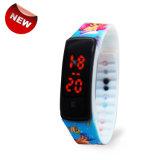 Promotie LEIDEN van de Armband van het Silicium van de Douane van de Manier Horloge