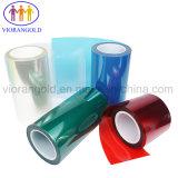 電話スクリーンの保護のためのアクリルまたはシリコーンの接着剤が付いている25um/36um/50um/75um/100um/125umの透過か赤いペット保護フィルム