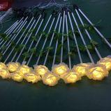 Wasserdichtes IP44 rotes Rose LED Licht der Holiday&Party Weihnachtsdekoration-