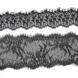 Moda 2018 Tejido de algodón poliéster tejido de encaje