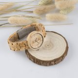 Relógios de moda de artesanato logotipo personalizado Bewell Madeira completo assistir