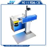 De gespleten Laser die van de Vezel Machine 20W 30W 50W voor Markeringen van het Oor van het Metaal de Dierlijke merken