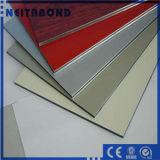 Panneau en plastique en bois panneau composite aluminium pour la décoration murale