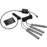 indicatore luminoso interno dell'atmosfera di RGB di telecomando di musica 9SMD 5050