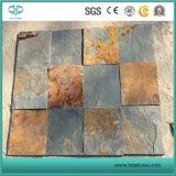 Slate мозаика/желтый шифера, поржавевшая доски для использования вне помещений