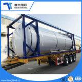 La Cina ha fatto il rimorchio di trasporto della benzina del rimorchio del serbatoio di combustibile semi