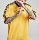 湿気Wicking乾燥した適合ポリエステル緩い適合の通りのバスケットボールのジャージーRalganの袖の人のTシャツ