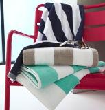 El lujo de alta calidad 100%Algodón franjas de color brillante Toalla