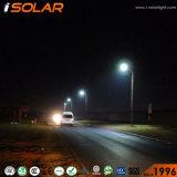 Isolarは1つのリチウム電池の太陽動力を与えられた街灯のすべてを統合した