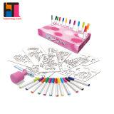 Комплект для самостоятельного использования чертежа образования детей окраска игрушки