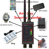 1MHz-12gh無線の反スパイの探知器Fbi GSM RFのシグナルの長い磁気LEDのアンテナM8000を持つ自動追跡者の探知器GPSの追跡者のファインダーのバグ