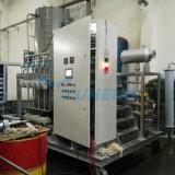 A mistura de óleo do motor ou máquina de mistura