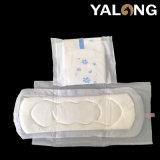 翼のない中国の製造業者の綿の上シートの女性の衛生パッド