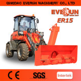 Ce Approved Mini Radlader Er15 para Markets europeo
