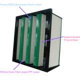 高容量VバンクのコンパクトHEPAフィルター