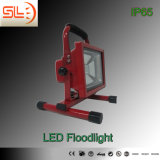 Energy 10W LED Floodlighting recarregável