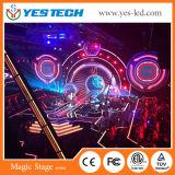 Schermo locativo dell'interno magico del video LED di colore completo della fase P3.9mm di Yestech