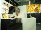 Cozinha da laca da amostra do Sell a meio preço Br-L022