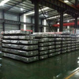 Hoja de acero galvanizado corrugado 0.12-0.8mm hoja de techado de productos de acero