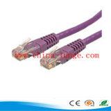 CAT6パッチのケーブルまたは電話ケーブルか光ファイバパッチ・コード