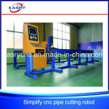 Maquinaria del cortador del plasma del CNC Oxy del tubo/del tubo de la depresión del acero inoxidable