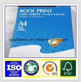 Papier-copie A4, double un papier A4, éclat 104-106%