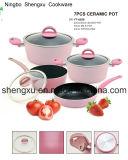 Stockpot бака сковороды Coated сплава алюминиевый Non-Stick для Cookware устанавливает Sx-Yt-A020