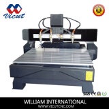 Machine de gravure rotatoire de travail du bois du couteau 4-Axis de commande numérique par ordinateur (VCT-1518FR-4H)