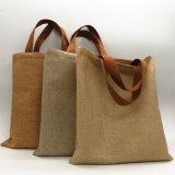 安いジュートのショッピング・バッグのハンド・バッグ