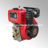 스플라인 샤프트와 기름 목욕 공기 정화 장치 (HR186FA)를 가진 디젤 엔진