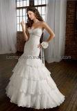 2012 Charmant Mermaid Empire de la Dentelle Robes de mariée robe de bal Lmo007