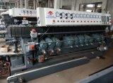 Chaflán que bisela arriba eficiente de 11 motores que hace la máquina de cristal