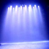 Hot Sale 12W LED RGBW Étape par la lumière colorée de Voice Control Disco stade Spotlight de lumière pour disco dj partie Show