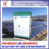 Hochspannungseinphasig-Ausgabe-Inverter des input-480V-600VDC (100kw)