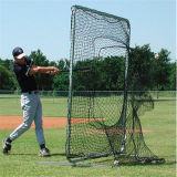 Rete portatile dell'arco con la grande rete di baseball dell'addestratore di lancio della bocca