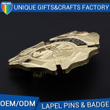 鋳造技術およびArt&Collectibleの使用の人のスーツの折りえりPin