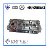 Gran Gran Eje de acero mecanizado CNC de piezas mecanizadas