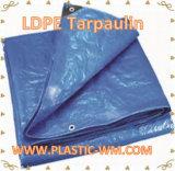 Encerado de la tienda del LDPE Tarpualin y cubiertas del PE