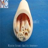 Tube en céramique d'alumine blanche de qualité