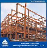 Struttura d'acciaio dell'indicatore luminoso prefabbricato della costruzione per il magazzino