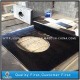 Дешевые черного жемчуга G684 роскошная ванная комната на крышах в левом противосолнечном козырьке