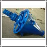 Máquina vertical doble tornillo Tipo industrial de polvo seco Mezclador