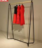 Dame-Kleid-Bildschirmanzeige-Zahnstange mit Beschichtung-Schwarz-Farbe