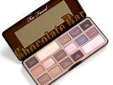 Ook Onder ogen gezien Chocoladereep 16 het Palet van de Oogschaduw van de Make-up van Kleuren
