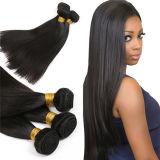 卸売価格の熱い販売の加工されていないバージン100%のブラジルの人間の毛髪