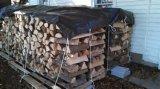 Coperchio durevole impermeabile della tela incatramata del legname