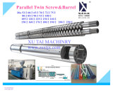 Parafuso gêmeo de Paralle para a máquina da extrusão de PVC/PP/PE/ABS